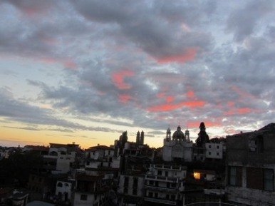 Clouds over Taxco