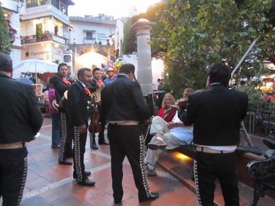 Mariachi band, Taxco, Mexico