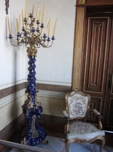 LouisXV chair & candle stand