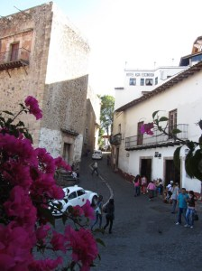Winding streets - Taxco, Mexico