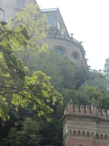 Chapultepec Castle facade, Mexico City