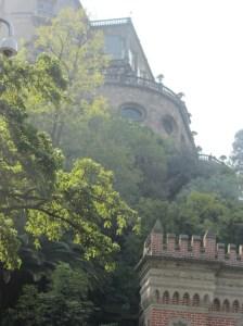 Chapultepec Castle facade, Mexico City
