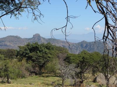 Sombrero Mountain, near Tetipac, Mexico