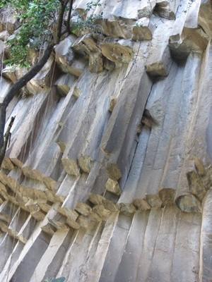 Rock formation, Salto de San Anton,