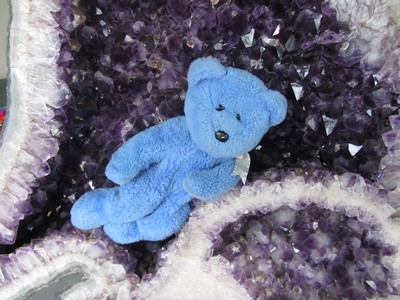 Blue Beal and amethyst