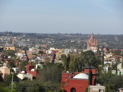 Overview San Miguel de Allende