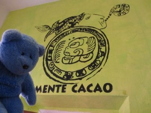 Mente Chocolate sign