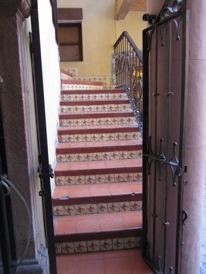 Stairs, Mexico