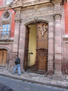 Old door, San Miguel de Allende, Mexico