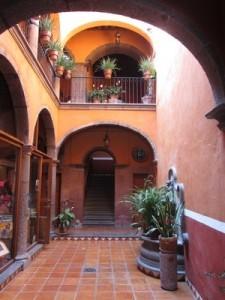Courtyard, San Miguel de Allende, Mexico