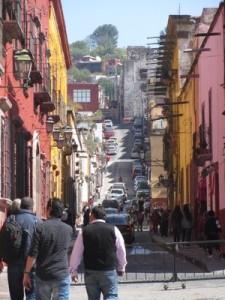 Street Scene, San Miguel de Allende, Mexico