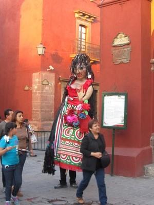 Street puppet, San Miguel de Allende, Mexico
