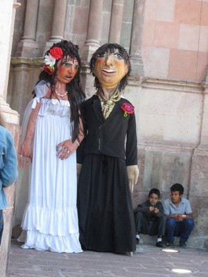 Street puppets, San Miguel de Allende, Mexico