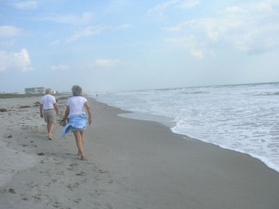 walkers at Cocoa Beach, FL