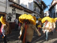 Indigenous costumes, Parade, Taxco, Mexico