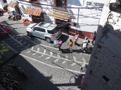Street band, Taxco, Mexico