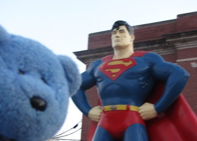 Superman & Blue Bear, Metropolis, IL