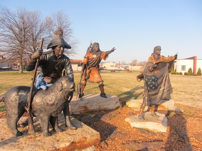Lewis & Clark tribute, Paducah, KY