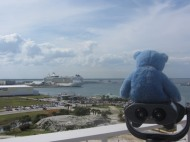 Overlooking the port, Cape Canaveral, Florida