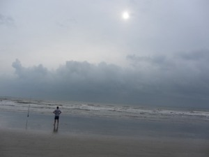 Stormy sunrise, Cocoa Beach, Florida