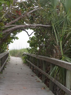 Boardwalk to Cocoa Beach