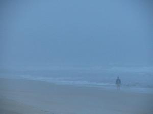Storm surf mist, St. Augustine Beach, Florida