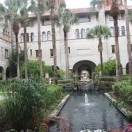 Courtyard, old Hotel Alcazar, St Augustine, Florida