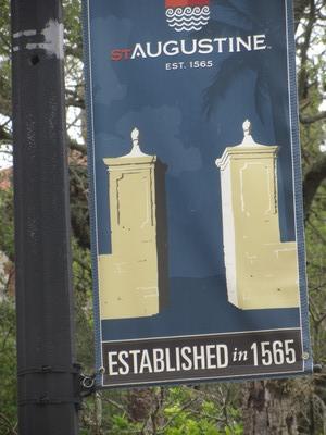 St Augustine banner