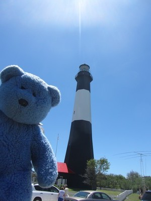 Blue Bear at Tybee Island Lighthouse station