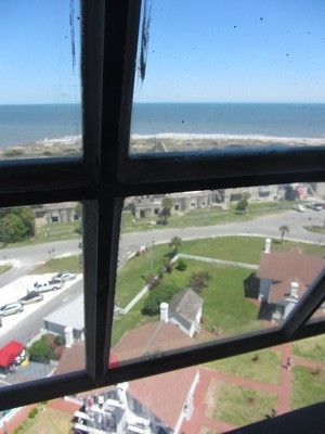 View of light station from Tybee Island Light