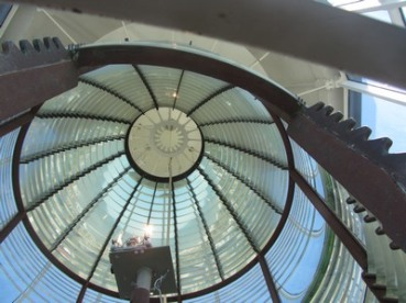 Fresnel lens, Tybee Island Light, Georgia