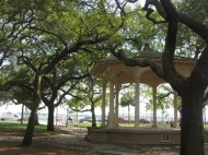 Gazebo, White Point Gardens, Charleston South Carolina