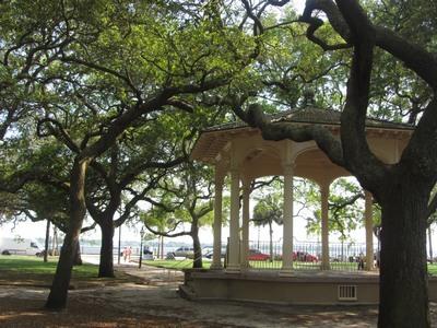 Gazebo, White Point Gardens, Charleston South Carolina