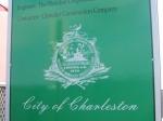 Charleston, South Carolina sign