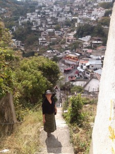 Escalera, Taxco, Mexico
