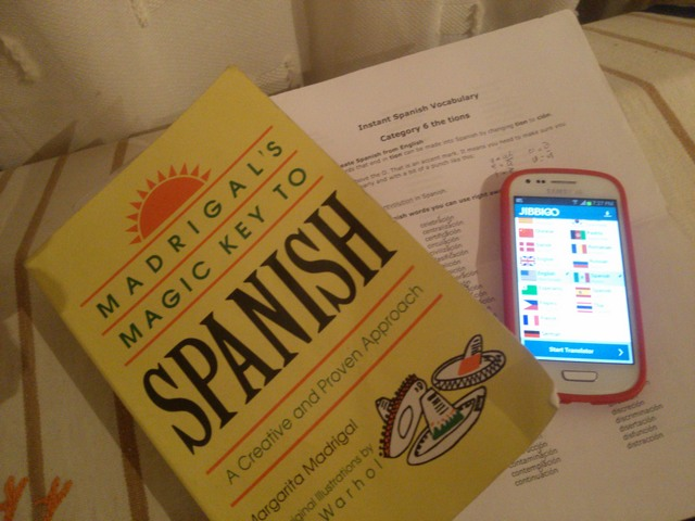 Tools for learning Spanish