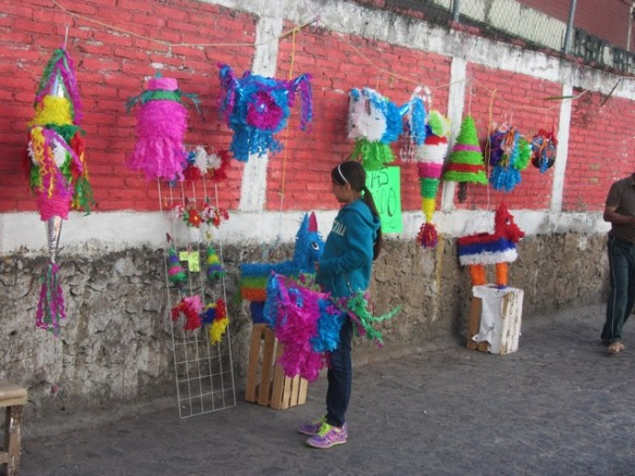 pinatas for sale, Taxco, Mexico