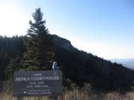 Devil's Courthouse, Blue Ridge Parkway