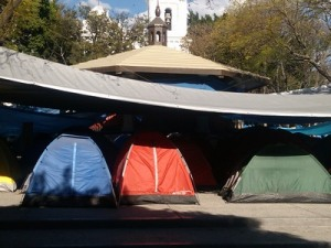 Tent City, Chilpancingo, Mexico
