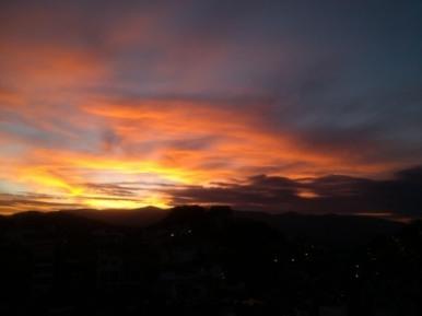 Sunrise, Taxco, Mexico