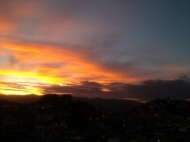 Sunrise, Taxco, Mexico