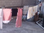 Laundry drying, Taxco de Alarcon, Mexico