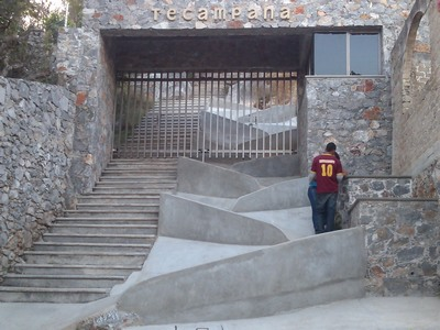 Main Entrance, Parque de Tecampana, Teloloapan, Mexico