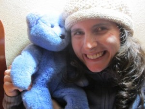 Vanessa & Blue Bear