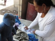 Doing laundry in Mexico