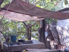 Outdoor wash area, Family compound, Ocotito, Mexico