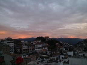 Sunset, Taxco de Alarcon, Mexico