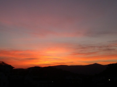 Sunrise, Taxo de Alarcon, Mexico