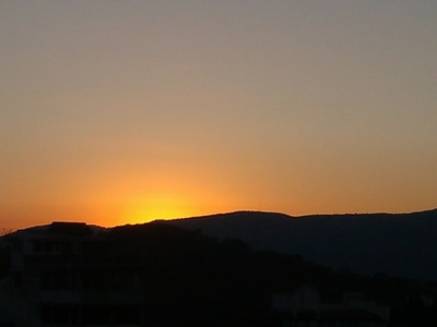 Sunrise in Taxco de Alarcon, Mexico