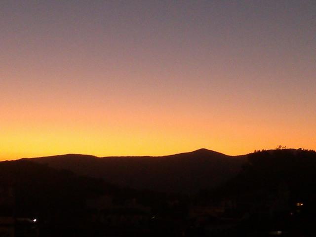 Sky Sunrise Sunrise Cloudless Sky Taxco